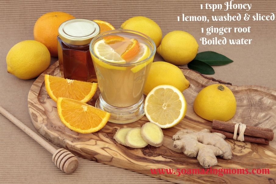 Healthy Cold Cure Drink