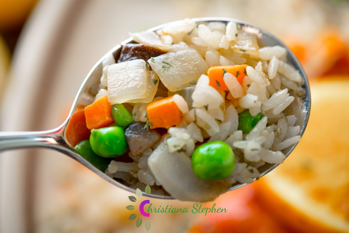 #124. The Fried Brown Rice Recipe- Christiana Stephen